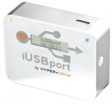 Беспроводной медиацентр для iPhone, iPad, Samsung и HTC HyperDrive iUSBport, цвет White (hj_iUSBport-wht)