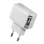 Сетевое зарядное устройство для iPhone 4/4S и iPad 2/3 Unplug Travel Charger Dual USB 2A с USB кабелем Apple 30-pin (TC2000IPH)